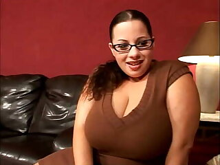 MILTF #26 - Busty stepmom has big satisfaction as she fucks will not hear of husband's young gentleman