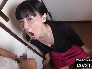 Bad Asian Moms Loving Hot Sperm Indeed