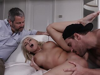 Cuckold hubby lets his sexy wife Christie Stevens ride another man