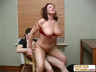 Mature Older Woman with Younger Lover 07
