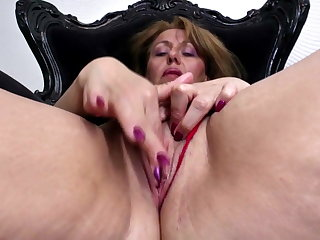 X old mom with big ass with an increment of thirsty vagina