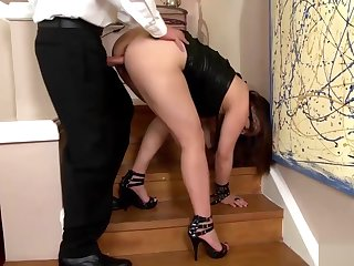 Asian belle loves being plowed constant