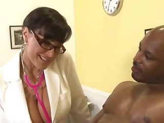 Doctor Housewife Lisa Ann and Black Lady's man Flash Brown