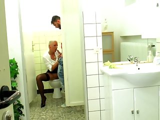 German milf Mandy Mystery fucks in the Smoothness