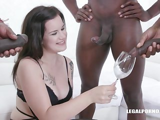 Desirable Hungering Teenager Zara Assfucked drink pissing