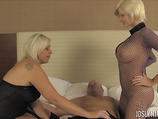 Bad inside whore Joslyn James enjoys hardcore MFF threesome