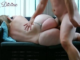 French stepmom lets her stepson fuck her big ass