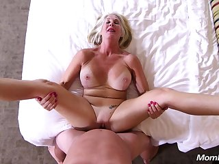 The Pick up Callgirl - Blond Hair Lady big tits mature POV