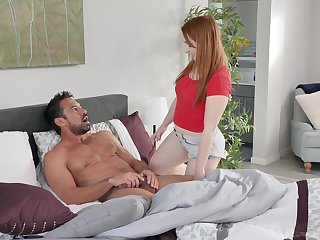 Hot daddy Johnny Manor-house fucks grown up stepdaughter Cleo Clementine