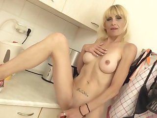 Lean Housewife Adjacent to Big Hungry Pussy